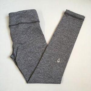 Ivivva Size 6 Rhythmic Gray Leggings Tights